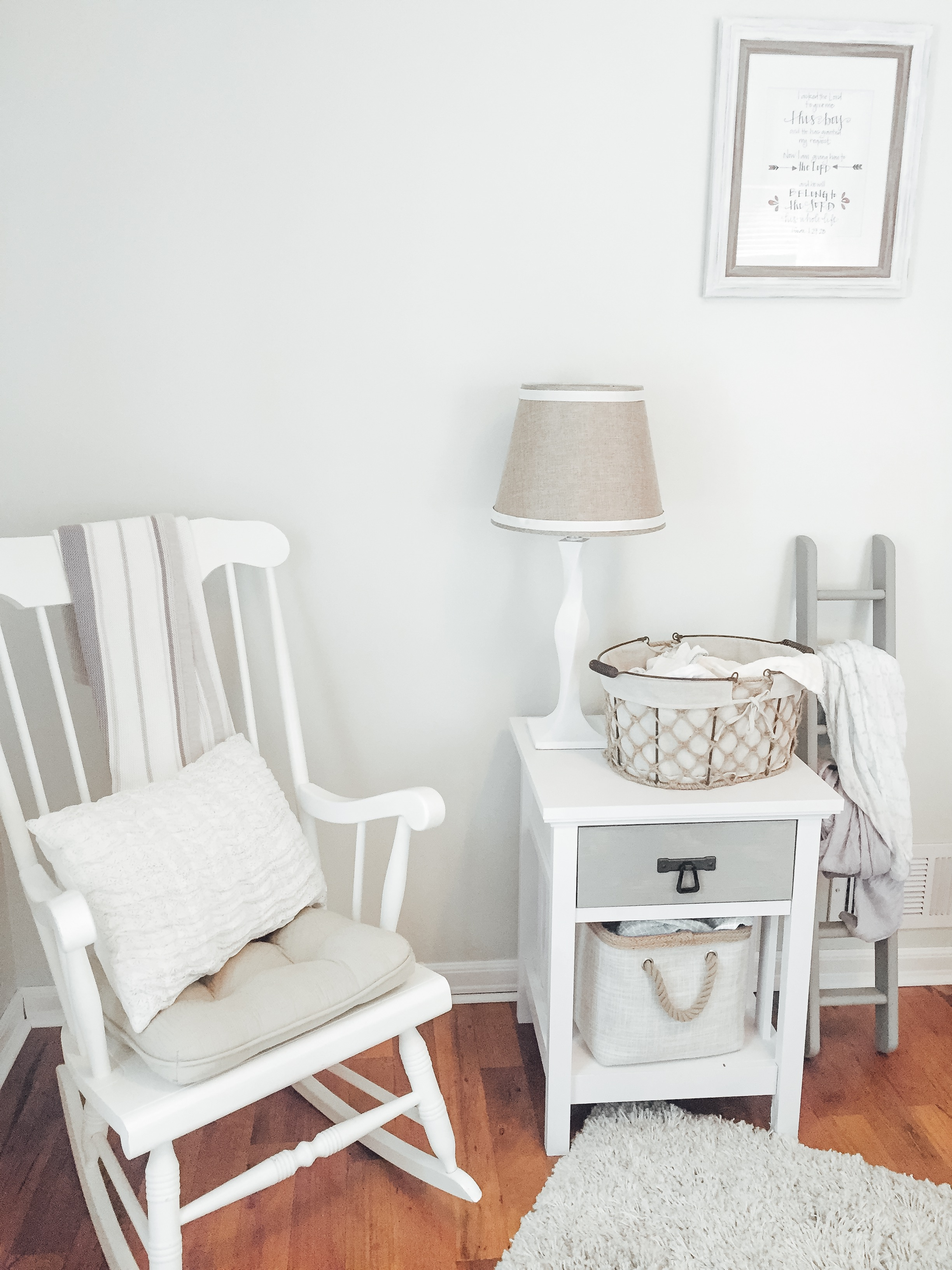 Rocking Chair in Neutral Nursery