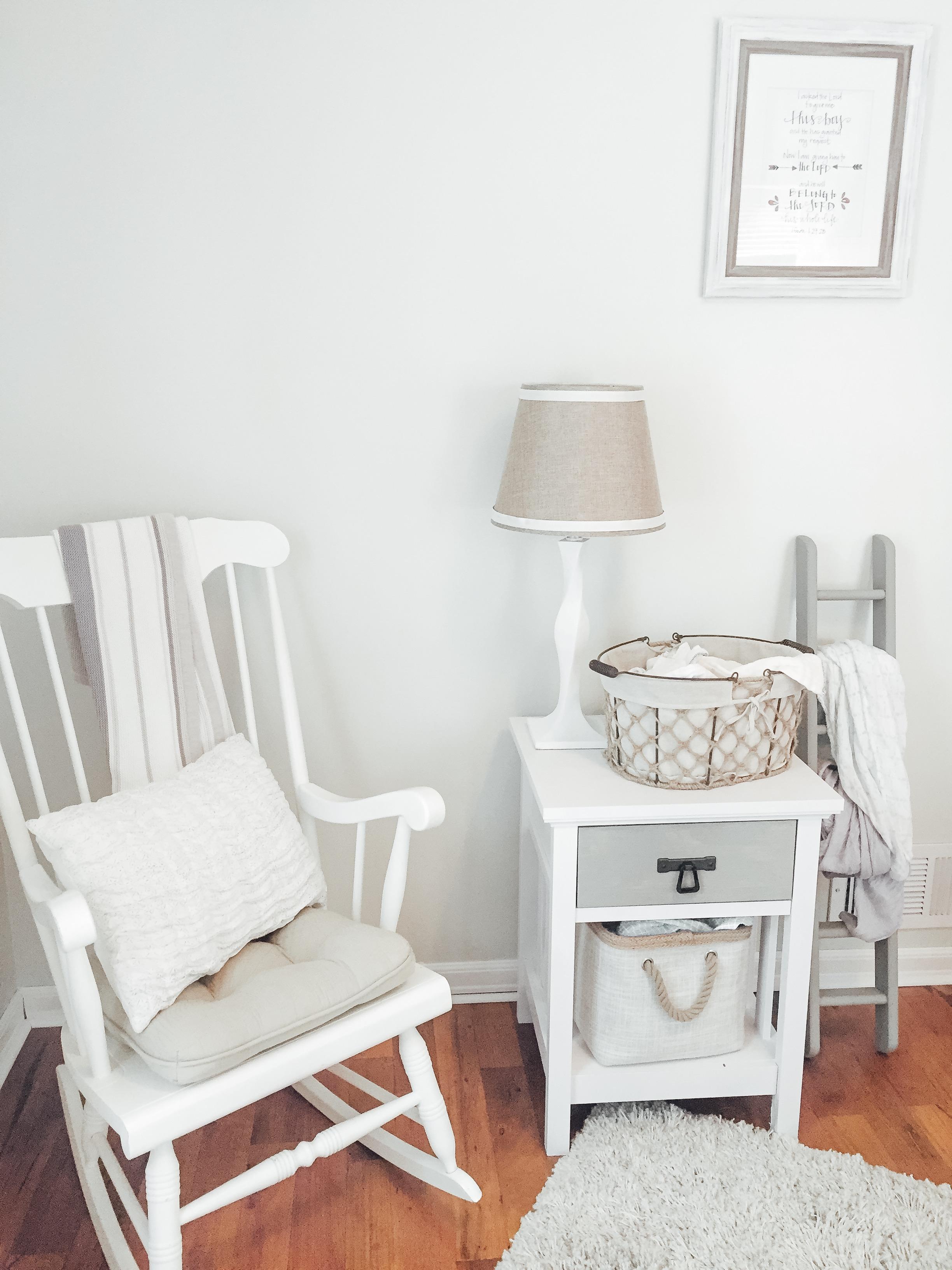 Rocking Chair in Neutral Nursery