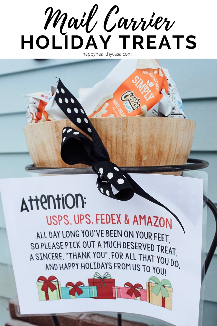 Mail Carrier Holiday Treats