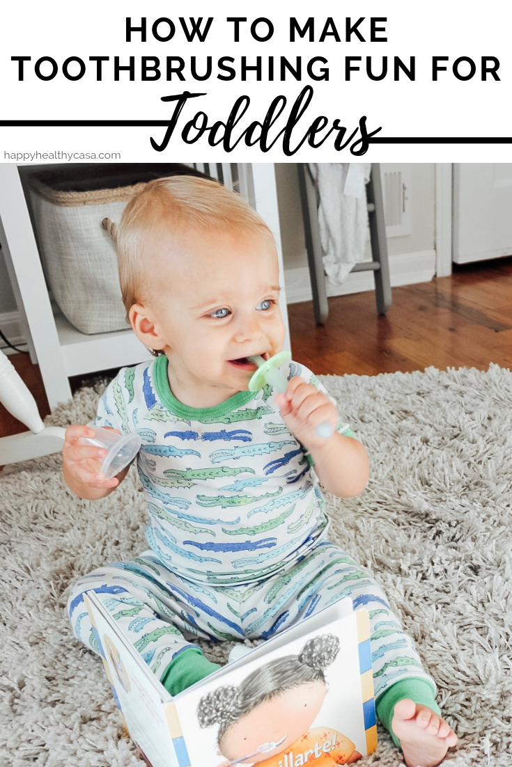 How to Make Toothbrushing Fun for Toddlers