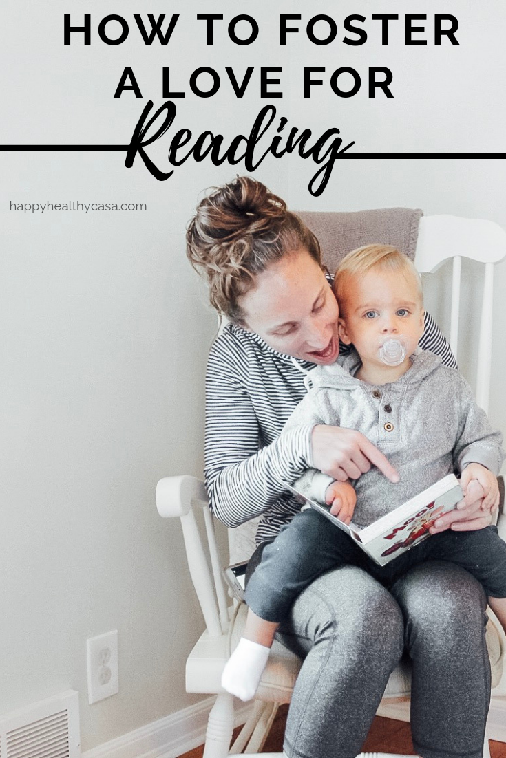 How to Foster a Love for Reading in the Toddler Years