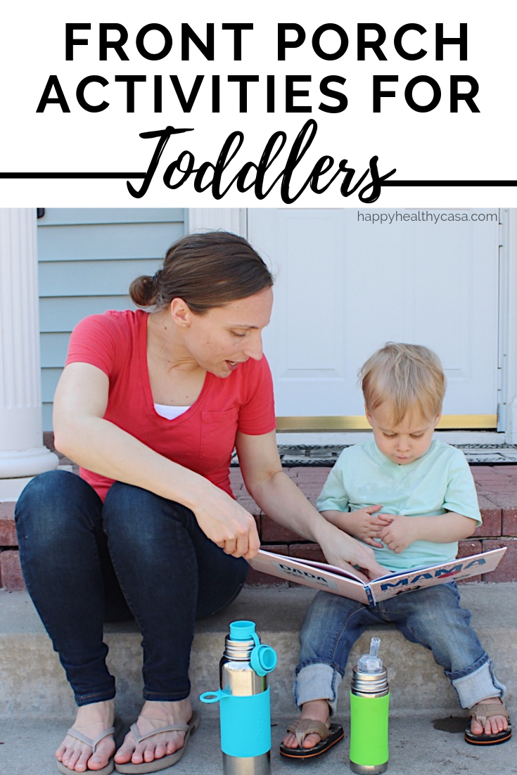 Front Porch Activities for Toddlers