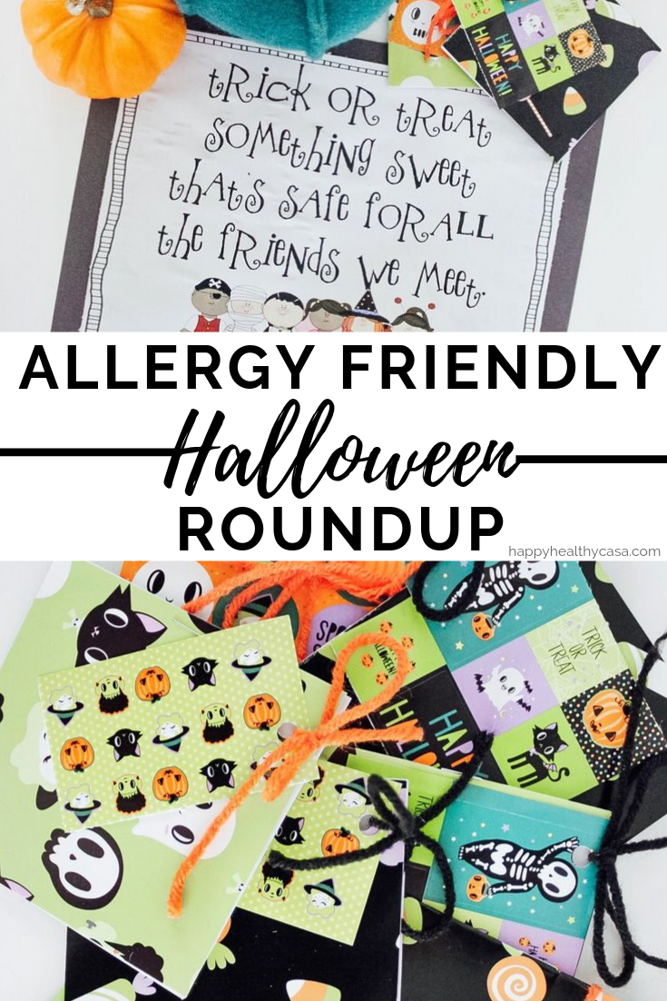 Allergy Friendly Halloween Treat Roundup