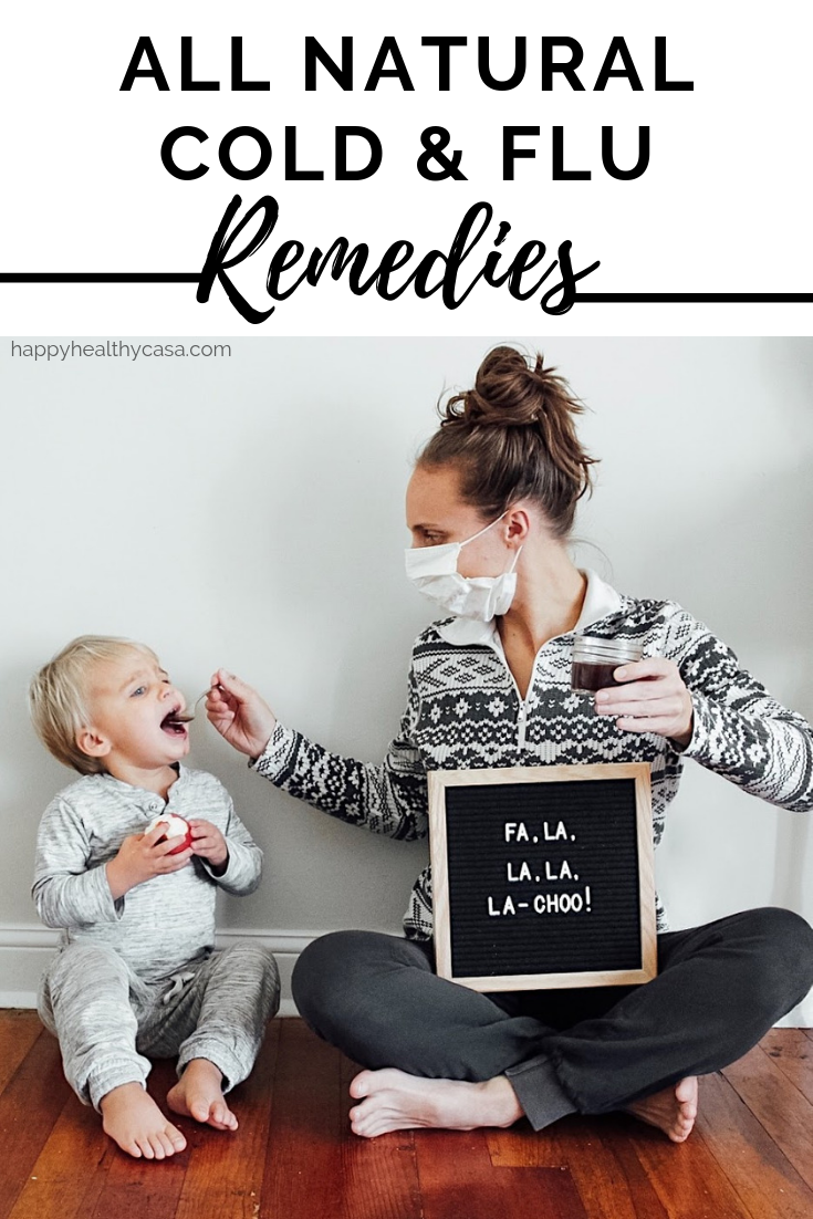 All Natural Remedies for Cold & Flu Season