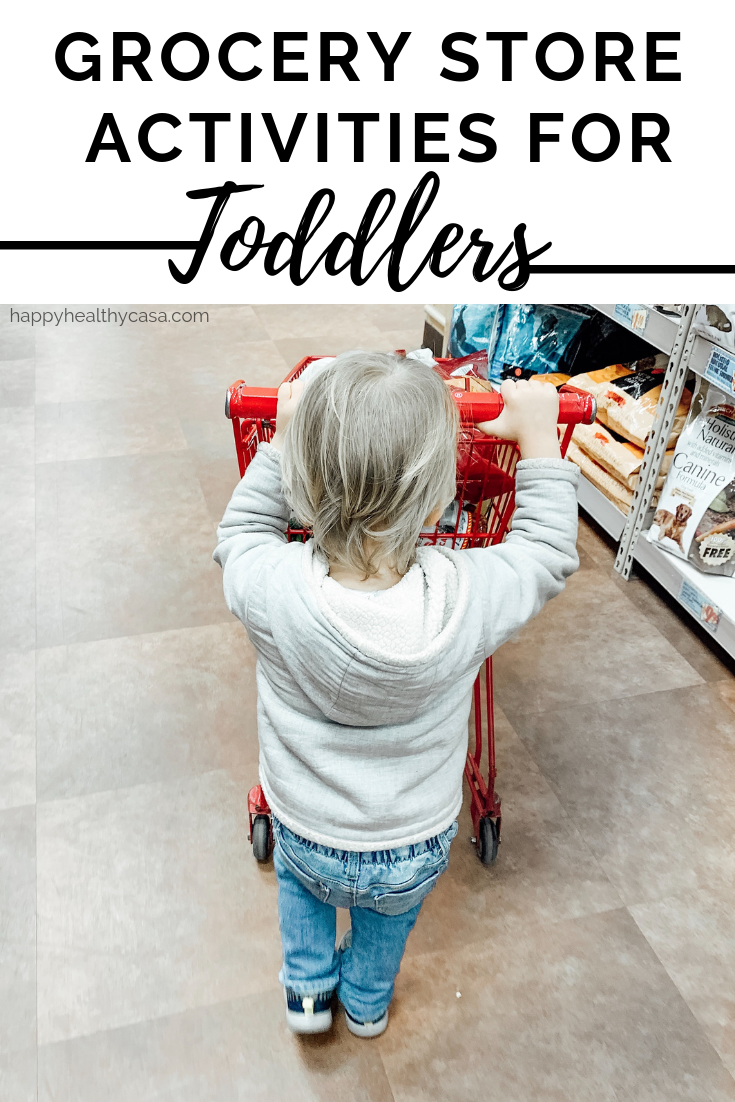 15 Grocery Store Activities for Toddlers