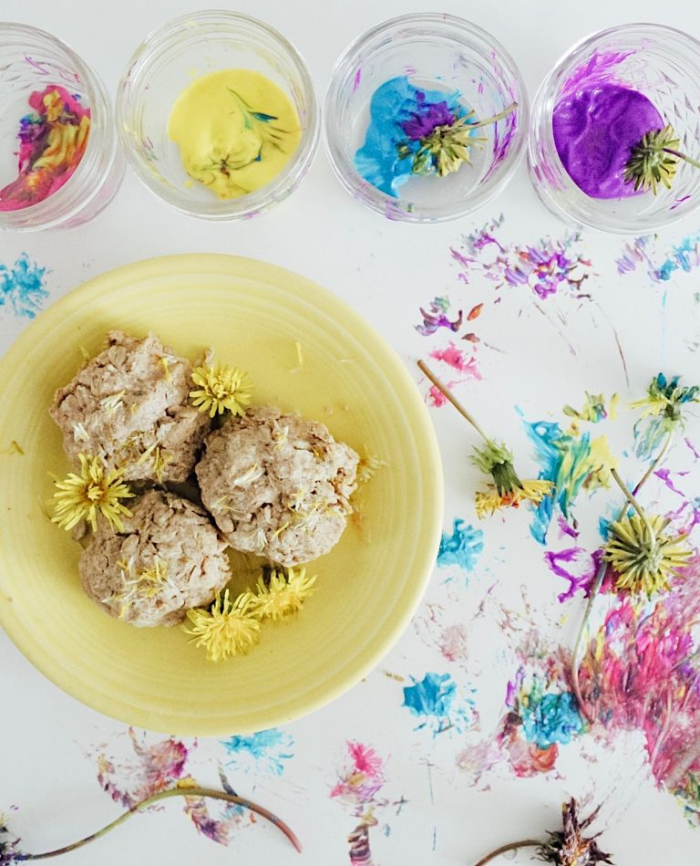 An assortment of 9 different ways to use all of those dandelions this summer!