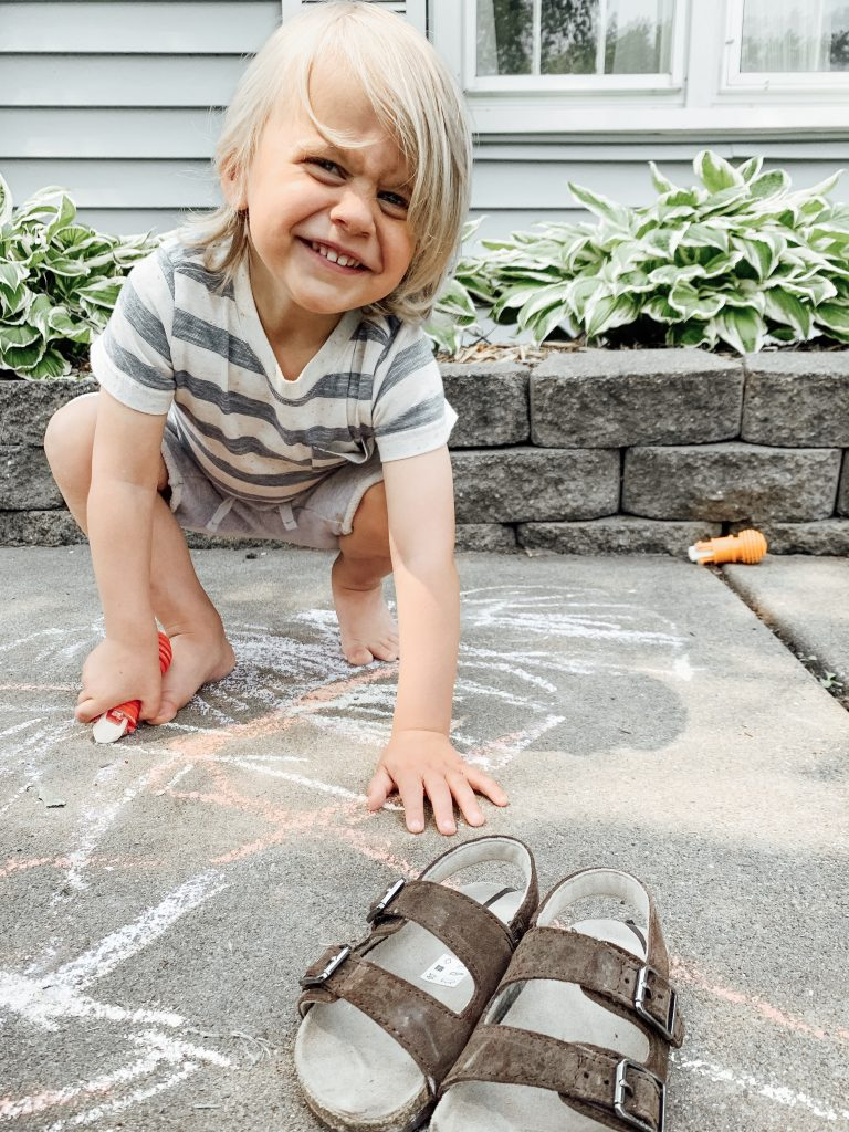 10 activities to foster learning for preschoolers using sidewalk chalk