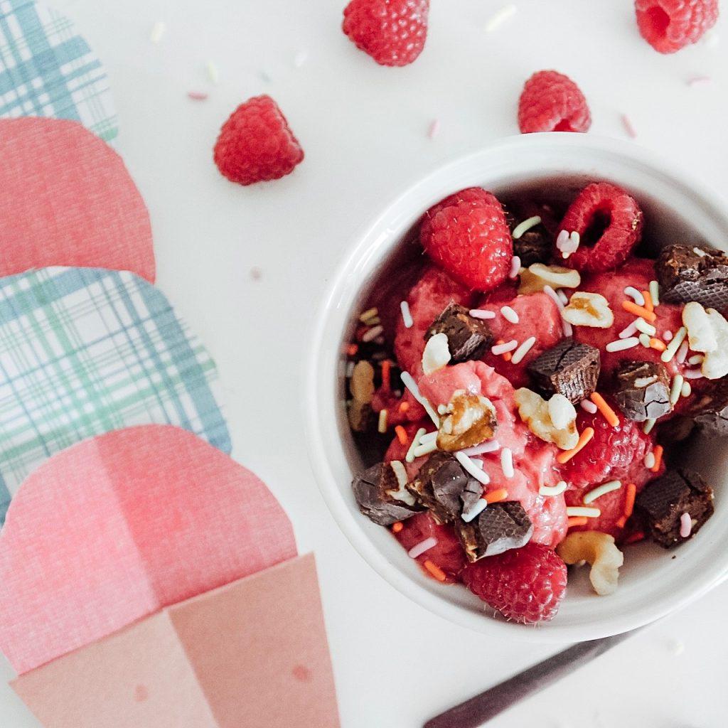 Homemade Healthy Ice Cream