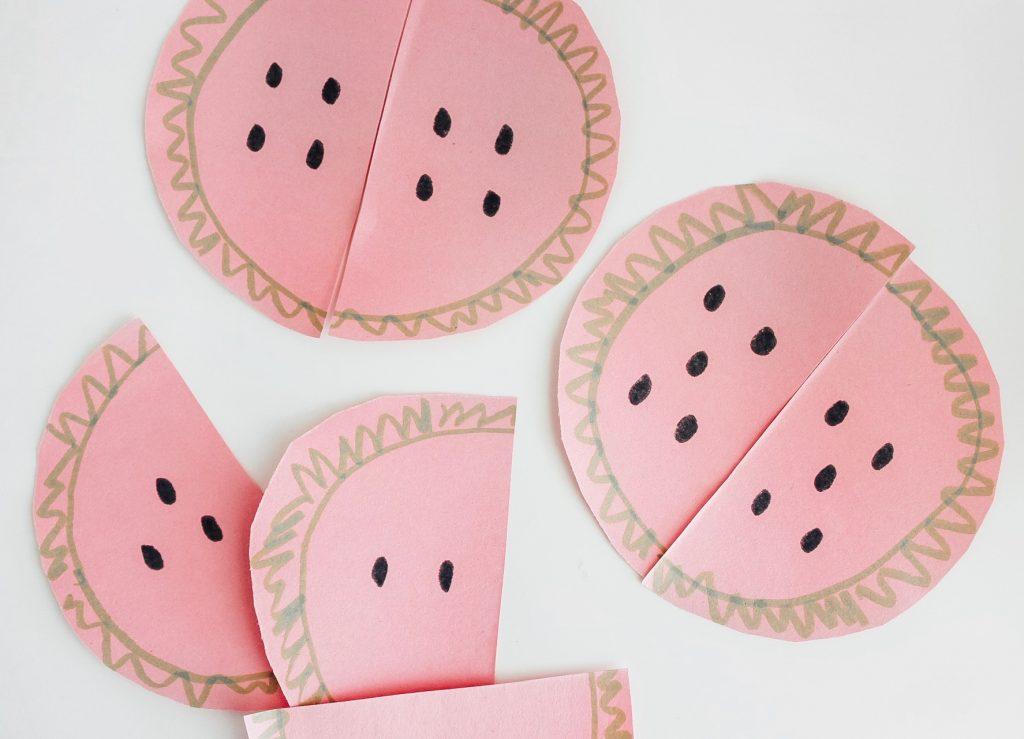 Watermelon Activities for Preschoolers