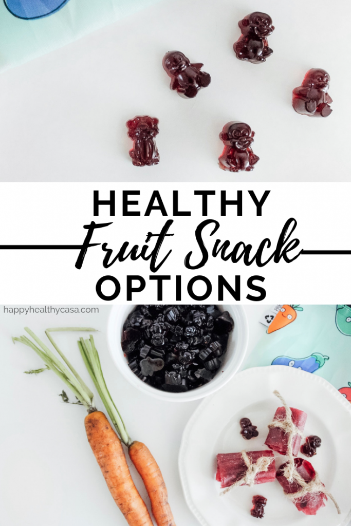 Healthy Fruit Snack Options - A list of homemade and store bought options that are made with only real, whole ingredients for your whole family.