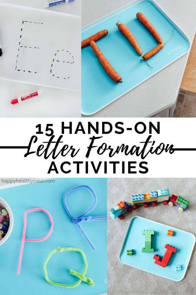 15 Hands-On Letter Formation Activities for Kids