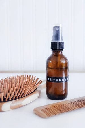 Natural DIY Hair Detangler (with Essential Oils)