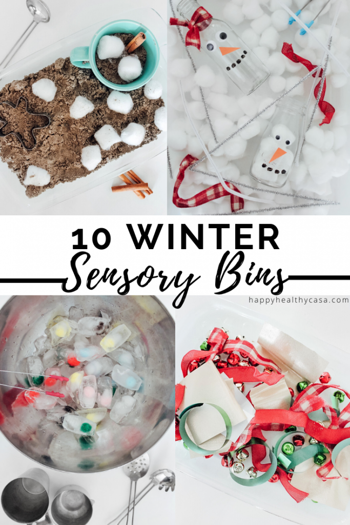 Winter Sensory Bin Ideas